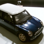 Burago 1:18 2001 mini cooper  Die-cast Model large collectors model loose @SOLD@